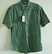 Mens Button Front Shirt Agave Green  Cotton Size  Large Outdoor Life