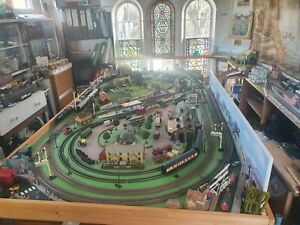 Model Train layout 00 Gauge all working complete system  £4,000