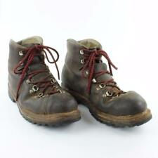 Vintage RAICHLE Men Brown Leather Extreme Hiking Mountaineering Boots US Size 10