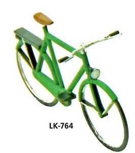 Peco Spur 0 Fahrräder, 8 Stück - Peco LK764