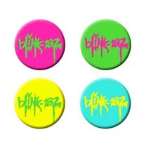 Blink 182 Pin, Button, Nine, GREEN ONLY