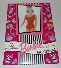 BARBIE 1964 PAPERDOLL Reproduction PECK AUBRY Sealed