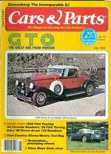 1982 Cars & Parts Magazine: 1929 Pierce-Arrow Model 133 Runabout/1954 Corvette
