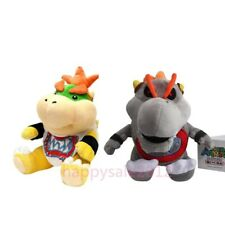 Super Mario Bros Baby Dry Bones Bowser & Jr Koopa Stuffed Toy Plush Doll 7inches