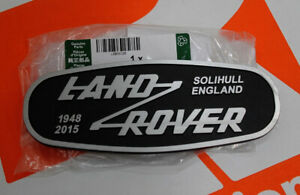 New Genuine Land Rover Defender Adventure limited edition front grille BADGE 90