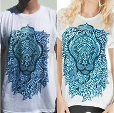 Electro Threads Zoo-Doodle LION T-Shirt Mens S Ladies M Super Soft Hand Drawn