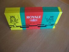CARTONNAGE POUR 3 ETUIS DE 20 CIGARETTES ROYALE (VIDE)