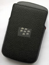ORIGINALE BLACKBERRY Q10 ACC-50704-201 Borsa Pocket Custodia protettiva nera