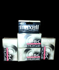 Maxell VHS-C HGX-Gold Camcorder Tape Sealed 4 x