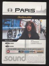 NEUF DVD + CD PARIS BELLEVILLE SOUNDWALK WITH F LOIRET CAILLE guides audio vidéo