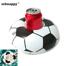 2019 Football Inflatable Drink Can Cup Holder Party Beverage Boats Phone Holder