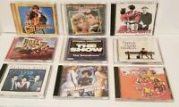 LOT OF 9 MOVIE SOUNDTRACKS CDS DISC GREASE GOLDMEMBER GLEE FOREST GUMP ROAD TRIP