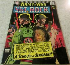 Our Army at War 172, (VF 8.0) 1966 Heath art! 40% off Guide!