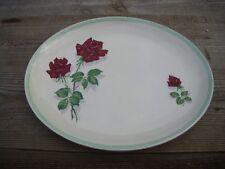 Vintage Barker Bros Royal Tudor Ware China Meat Serving Dish Shadow Rose