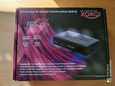 XORO HRK 7659 DVB-C HD Receiver für digitales Kabelfernsehen
