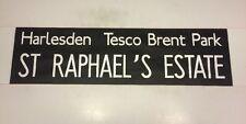 """Harrow Bus Blind 2 (33"""")- St Raphael's Estate Harlesden Tesco Brent Park"""