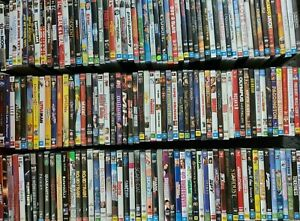 Range Of DVD's Available - Used - Movies & TV Series Seasons Alphabetical Order
