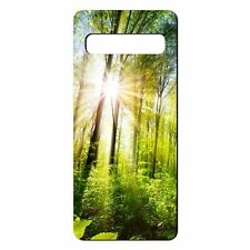 For Samsung Galaxy S10 Silicone Case Nature Forest Tree - S5300