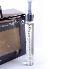 Calvin Klein Euphoria Intense Eau de Toilette 10ml Spray 0.33oz EDT Men's SAMPLE