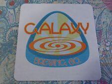 Beer Coaster ~ GALAXY Brewing ~ Binghamton, NEW YORK ** Add'l Coasters $0.25 S&H