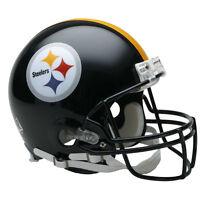 PITTSBURGH STEELERS RIDDELL NFL FULL SIZE AUTHENTIC PROLINE FOOTBALL HELMET