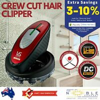 Mens Hair Clippers Trimmer Crew Cut Shaver Vidal Sassoon Head Shaver Cordless