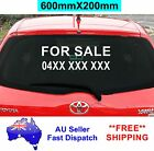 FOR SALE Sticker with Phone Number 600mm CAR Stickers Window Decal Vinyl Sign
