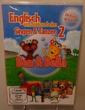 Englisch entdecken beim Singen und Tanzen (2) + Ben & Bella Spaß Kinder DVD #T6