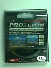 Kenko 55mm Pro1 Digital WIDEBAND CIR Circular Polarizer CPL C-PL (W) Filter