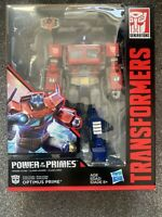 Transformers Generations Power Of The Primes Leader Optimus Prime Action Figure