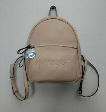 Guess Rigden Backpack Shoulder Bag Purse Logo Caramel LE706131 New