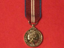 Miniature QDJM Queens Diamond Jubilee Medal 2012 with ribbon BRAND NEW