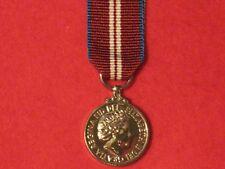 2012 Queen`s Diamond Jubilee Miniature Medal & Ribbon