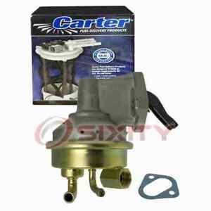 Carter Mechanical Fuel Pump for 1979-1987 Pontiac Firebird 5.0L 5.7L V8 Air yf