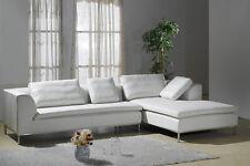 Design Voll-Leder Ecksofa-Sofa-Garnitur-Eckgruppe 299-R