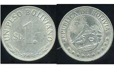BOLIVIE   1  peso bolivianos  1968