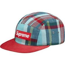 SUPREME Madras Camp Cap Red Box Logo camp floral safari real moss tree S/S 13