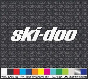 "Ski-Doo Snowmobile Racing sport Car Truck Window Decal Sticker Laptop 8"""
