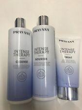 Pravana Intense Therapy Cleanse/Nourish/Treat TRIO SET 11oz/5oz