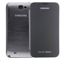 Genuine White Samsung Flip Cover Case for Galaxy Note II 2 N7100 N7105