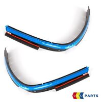 NEW GENUINE MINI R52 CONVERTIBLE TOP REAR TRUNK MOLDING PAIR SET 7123437 7123438