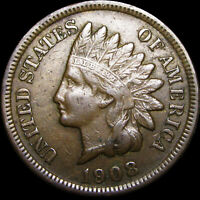 1908-S Indian Cent Penny  ----  Nice L@@K ---- #C245
