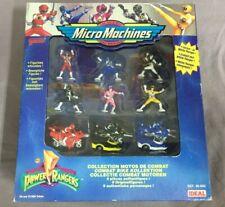 Power Rangers Micro Machines Galoob Battle Bike Figuren / Combat Bike Collection