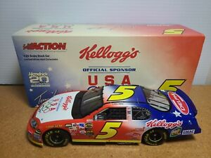 2004 Terry Labonte #5 Kellogg's/U.S. Olympics 1:24 NASCAR Action GM Dealers MIB