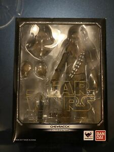 SH. Figuarts Chewbacca Star Wars A NEW HOPE US SELLER Complete Adult Collector