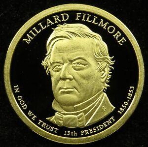 2010 S Deep Cameo Proof Millard Fillmore Presidential Dollar (C01)