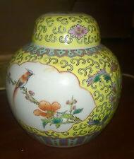 """Antiquariato/Porcellana/Ceramica""""VASO MADE IN CHINA""""Dipinto A Mano/Anni 50"""
