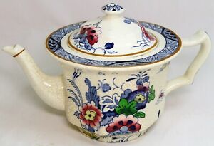 """Antique Booths Silicon China """"Netherlands"""" Tea Pot 1.5 Pint"""