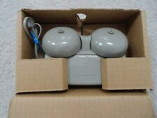 Vintage Bell System Western Electric Telephone Double Ringer Alarm New In Box.