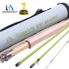 Maxcatch Ultra-lite Fly Fishing Rod Streams Panfish/Trout Fishing 1/2/3 weight